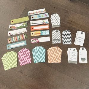 Paper Crafting Tags & Labels